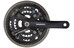 Shimano Acera FC-M361 - Manivelle - 48/38/28 noir